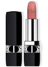 Dior - Rouge Dior – Nachfüllbarer Lippenstift – Satiniert, Matt, Metallic & Samtig - -rouge Dior Matte 100 Nude Look