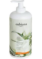 EUBIONA - Eubiona Produkte Sport - Körperlotion Rosmarin-Argan Nachfüll 500ml Bodylotion 500.0 ml - KÖRPERCREME & ÖLE