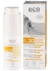 Eco Cosmetics Produkte Transparent - Sonnengel LSF30 30ml Sonnengel 30.0 ml