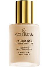 Collistar Face Perfect Wear SPF 10 Flüssige Foundation  30 ml Nr. 7 - Caramel