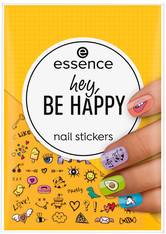 Essence Nail Art Hey, be Happy nail stickers Nagelsticker 1.0 pieces