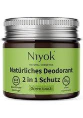 Niyok Produkte Deodorant - 2in1 Green Touch 40ml Deodorant 40.0 ml