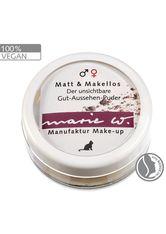 MARIE W - Marie W Puder Matt & Makellos für Frauen und Männer 2 Gramm - GESICHTSPUDER