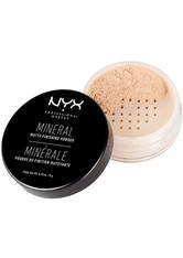 NYX Professional Makeup Mineral Set It & Don't Fret It Loser Puder 8 g Nr. 01 - Light/Medium