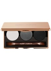 Nude by Nature Natural Illusion Trio Lidschatten Palette  6 g Nr. 02 - Smoky