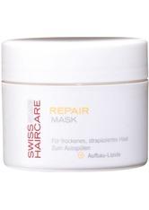 SWISS HAIRCARE - Swiss Haircare Pflege Haarpflege Repair Mask 150 ml - Haarmasken