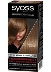 Syoss Permanente Coloration Professionelle Grauabdeckung Dunkelblond Haarfarbe 115 ml