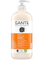 Sante Haarpflege Family Shampoo Kraft & Glanz - Orange & Kokos 250ml Haarshampoo 500.0 ml