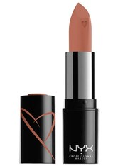 NYX Professional Makeup Shout Loud Hydrating Satin Lipstick (Various Shades) - Silk