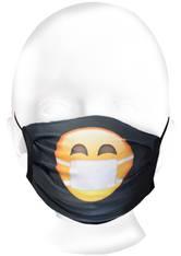 Kaufmann Mundschutz & Masken Mund- und Nasenmaske Smiley für Kinder Maske 1.0 pieces