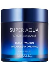 Missha Tagespflege Super Aqua Ultra Hyaluron Cream Balm Gesichtsbalsam 70.0 ml