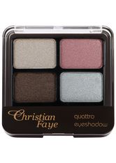 Christian Faye Augenmake-up Quattro Eyeshadow Lidschatten 1.0 pieces