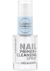 Catrice Nagellack Nail Primer + Cleansing Spray Nagellack 10.0 ml