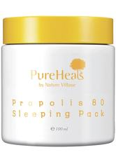 PUREHEAL'S - PureHeal's Propolis 80 Sleeping Gesichtsmaske  100 ml - CREMEMASKEN