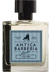 MONDIAL ANTICA BARBERIA - Becker Manicure Mondial 1908 Antica Barberia Original Talc Colonia Natural Spray 100 ml - Parfum