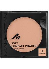 Manhattan Make-up Gesicht Soft Compact Powder Nr. 9 1 Stk.