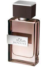 s.Oliver Superior Men Eau de Toilette EdT Natural Spray 50 ml Parfüm
