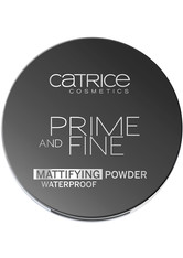 Catrice Teint Primer Prime And Fine Mattifying Powder Waterproof Nr. 010 Translucent 9 g
