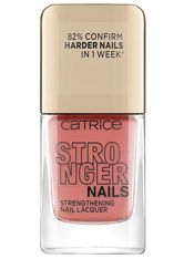 Catrice Stronger Nails Strengthening Nail Lacquer Nagellack  10.5 ml Burly Coral
