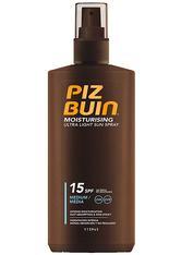 Piz Buin Spray mit LSF Moisturising Ultra Light Sun Spray LSF 15 Sonnencreme 200.0 ml