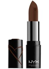NYX Professional Makeup Shout Loud Hydrating Satin Lipstick (Various Shades) - Grind