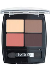 ISADORA - IsaDora Eye Shadow Quartet 5g 14 PEACH AVENUE - LIDSCHATTEN