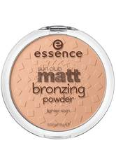 Essence Teint Puder & Rouge Sun Club Matt Bronzing Powder Nr. 01 Natural 15 g