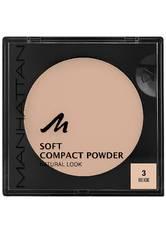 Manhattan Soft Compact Powder 3-Beige 9 g Kompaktpuder