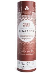 BEN & ANNA - Ben & Anna Produkte Nordic Timber - Deo papertube 60g Deodorant Stift 60.0 g - DEODORANT