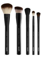NYX Professional Makeup Makeup Werkzeuge Essential Brush Kit Pinsel 1.0 pieces