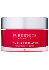 Pure White Cosmetics Gesichtspflege 10% AHA Fruit Acids Glow Moisturizer Gesichtscreme 50.0 ml