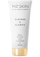 MZ SKIN Gesicht Cleanse & Clarify Dual Action AHA Cleanser and Mask Gesichtsreinigung 100.0 ml