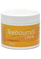 allcura Naturheilmittel Produkte Teebaum Creme mit Propolis Bodylotion 100.0 ml