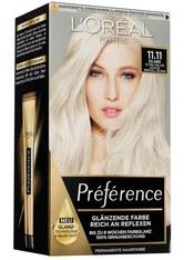 L'Oréal Paris Préférence 11.11 Ultra-Helles Kühles Kristall-Blond (Island) Coloration 1 Stk. Haarfarbe