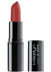 Misslyn Lippen Lippenstift Cream to Matte Long-Lasting Lipstick Nr. 221 Terracotta 4 g