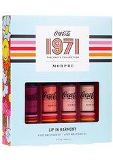 Morphe Lipgloss Coca-Cola X Morphe 4-Piece Mini Lip Gloss Set Make-up Set 1.0 pieces