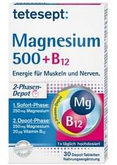Tetesept Produkte Tetesept Magnesium 500+B12 Depot Tabletten Nahrungsergänzungsmittel 30.0 pieces