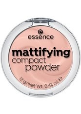 Essence Teint Puder & Rouge Mattifying Compact Powder Nr. 10 Light Beige 12 g