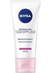 NIVEA - Nivea Gesichtspflege Tagespflege Reichhaltige Tagespflege LSF 15 50 ml - TAGESPFLEGE