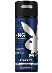Playboy King of the Game King of the Game Deo Aerosol Deodorant Spray 150.0 ml