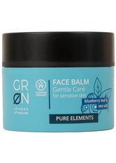 GRN NATURKOSMETIK - Groen Produkte Groen Produkte Pure Face Balm - Blueberry & Sea Salt 50ml Gesichtscreme 50.0 ml - Nachtpflege