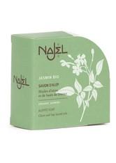 Najel Produkte Aleppo-Seife - Jasmin rund 100g Stückseife 100.0 g