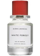 BJÖRK & BERRIES - Björk & Berries White Forest 50 ml Eau de Parfum (EdP) 50.0 ml - PARFUM