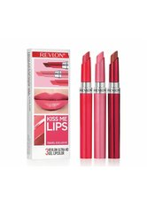 Revlon Produkte Lippenstifte Gel 3er Set ULTRA HD KISS ME Geschenkset 1.0 pieces