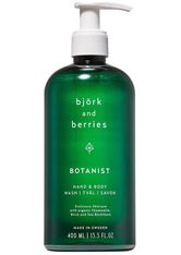 Björk & Berries Botanist Hand & Body Wash Körperseife 400.0 ml