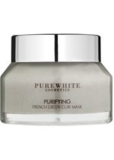 Pure White Cosmetics Gesichtspflege Purifying French Green Clay Mask Maske 50.0 ml