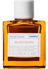Korres Black Sugar Eau de Toilette (EdT) 50 ml Parfüm