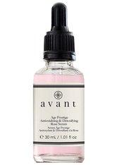 Avant Skincare Age Nutri-Revive Avant Age Nutri-Revive Antioxidising & Detoxifing Age Prestige Rose Serum Anti-Aging Pflege 30.0 ml