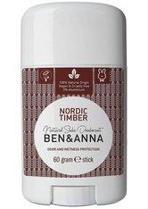 Ben & Anna Produkte Nordic Timber - Deo Stick 60g Deodorant 60.0 g