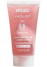 INGLOT - Inglot Reinigung Granatapfelduft Handgel 30.0 ml - HÄNDE